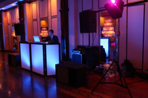 light up dj booth for weddings, sweet 16s, bar and bat mitzvahs in ny, nj, ct, westchester, bergen county